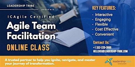 Agile Team Facilitation (ICP-ATF) | Virtual Classes - November 2020 tickets