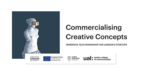 Commercialising Creative Concepts: Immersive Tech Industry Webinar tickets