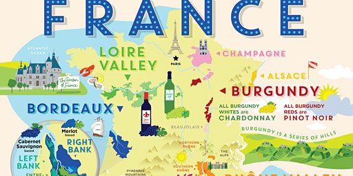 Learn about French Wines with the Alliance Française de Frederick