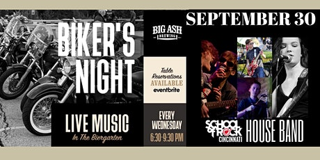 Bike Night Featuring Live Music by School of Rock Cincinnati's House Band tickets