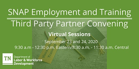 Third Party Partner Convening tickets