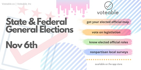State/Federal General Elections tickets