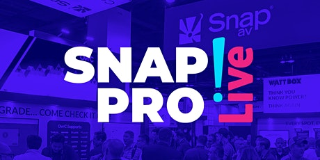Snap Pro Live tickets