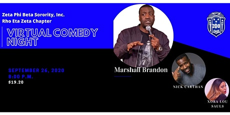 Virtual Comedy Night tickets