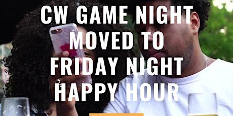 CW's Club Quarantine: Friday Night Virtual Happy Hour Game Night! tickets