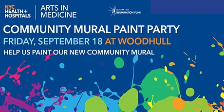 NYC Health + Hospitals/Woodhull Community Mural Paint Party tickets