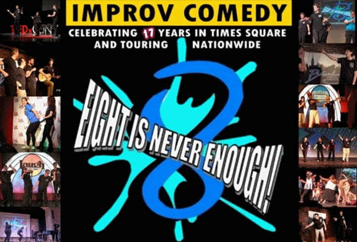 Intro to Long Form Improv  Comedy Times Square NYC In Person image