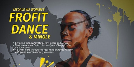 'FRO FIT DANCE & MINGLE ON ZOOM tickets