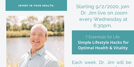 Wellness Wednesday with Dr. Jim tickets