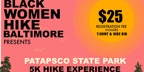 Black Women Hike Baltimore 5k tickets