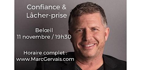 BELOEIL - Confiance / Lâcher-prise 25$ billets