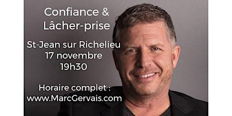ST-JEAN-SUR-RICHELIEU - Confiance / Lâcher-prise 25$ tickets