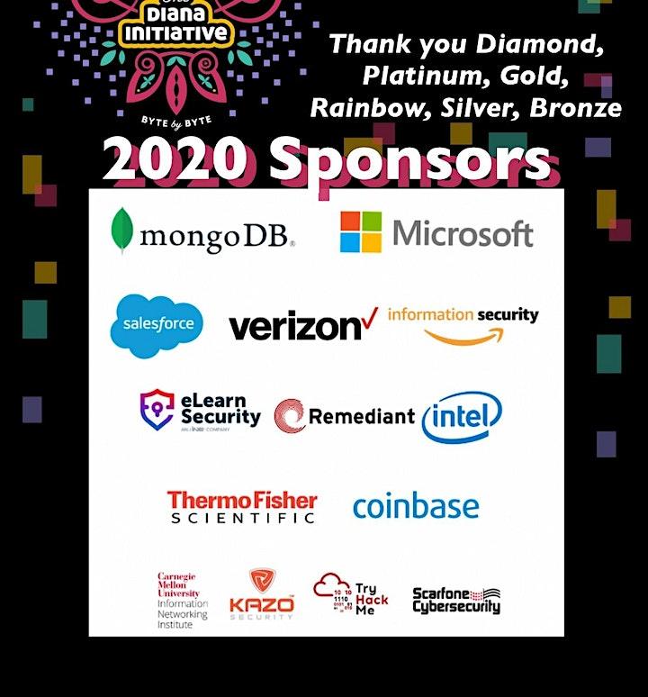 The Diana Initiative 2020 image