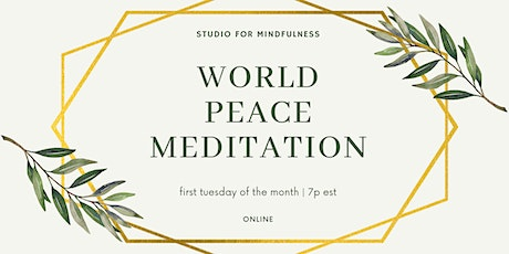 World Peace Meditation tickets