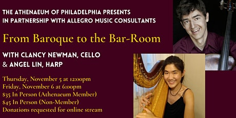 Allegro Presents: From Baroque to the Bar-Room tickets