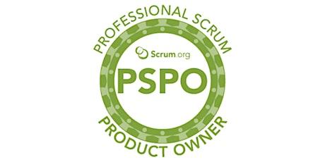 Professional Scrum Product Owner - Outubro ingressos