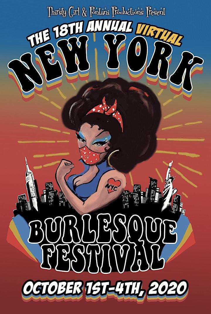 The 18th Annual Virtual  New York Burlesque Festival image