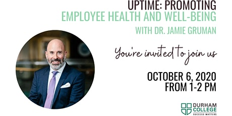 Jamie Gruman - Promoting Employee Health and Well-being tickets