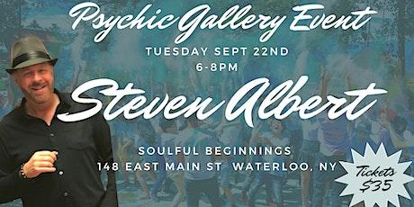 Steven Albert: Psychic Gallery Event - Soulful Beginnings tickets