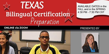Bilingual 164 Test Preparation/March 22-23, 2021 @ 4:30pm-7:30pm CST tickets