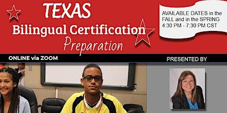 Bilingual 190 (BTLPT) Certification - Sept 21-22, 2020 @ 4:30pm-7:30pm CST tickets
