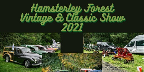 Hamsterley Forest Vintage & Classic Vehicle Show 2021 tickets