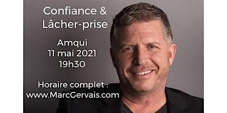 AMQUI - Confiance / Lâcher-prise 25$ billets
