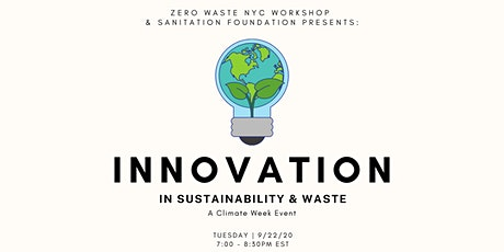 Innovation in Sustainability & Waste tickets