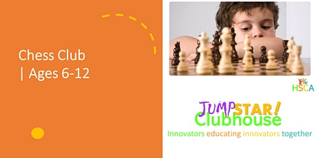 Chess Club Age 6-12 by JumpStar tickets