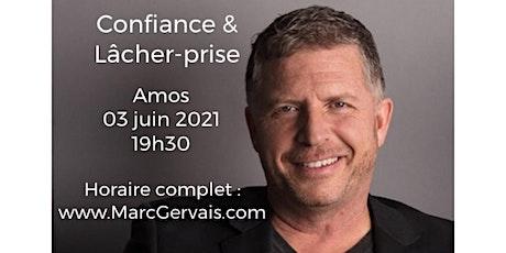AMOS - Confiance / Lâcher-prise 25$ billets