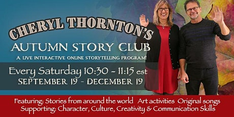 Cheryl's Autumn Story Club - Saturday Mornings tickets