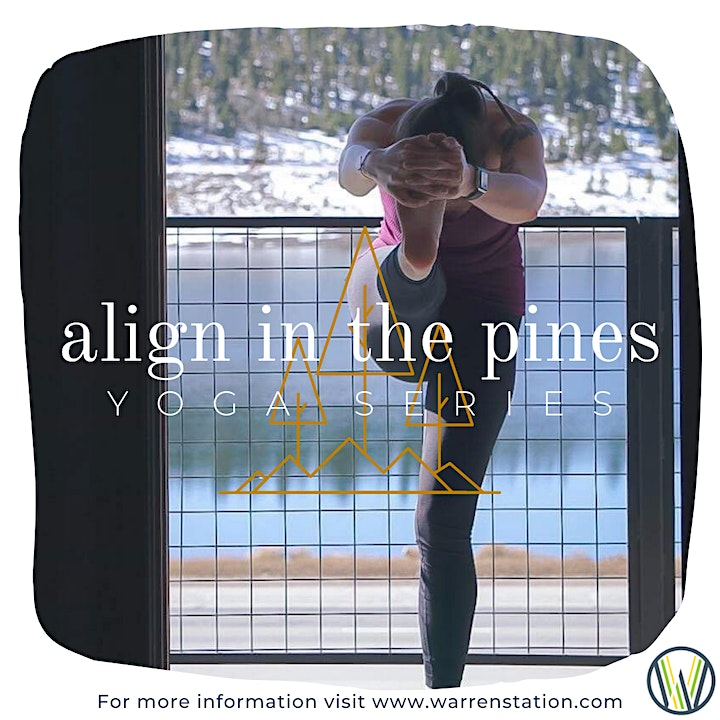 Align in the Pines: Yoga Series with Lole image