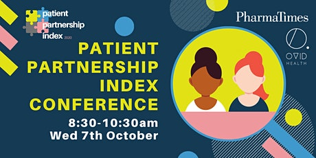 Patient Partnership Index 2020 Conference tickets
