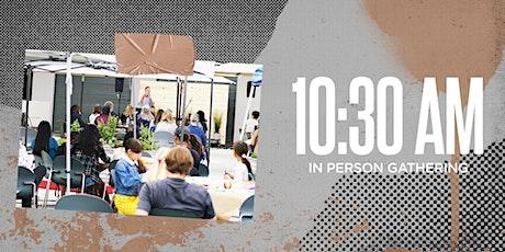 10:30am in person Patio Service tickets