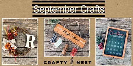 September 25th at The Crafty Nest DIY- Whitinsvill tickets