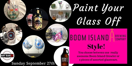 Paint Your Glass Off | Growler or Glass Painting tickets