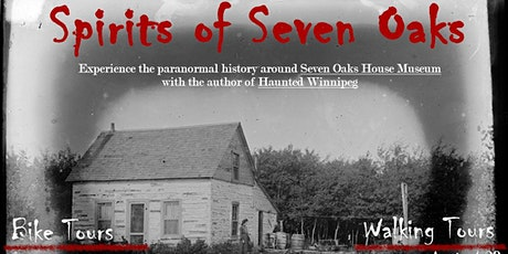Spirits of Seven Oaks - Haunted Bike Tour tickets