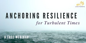 Anchoring Resilience for Turbulent Times - August 28,...
