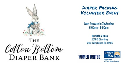 Women United Diaper Packing tickets