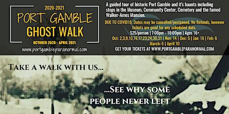 Port Gamble Ghost Walk tickets