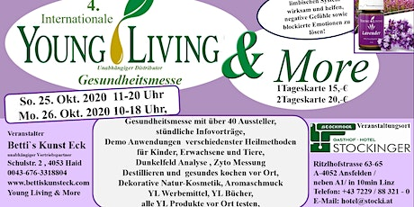 4. Internationale Gesundheitsmesse  Young Living & More Tickets