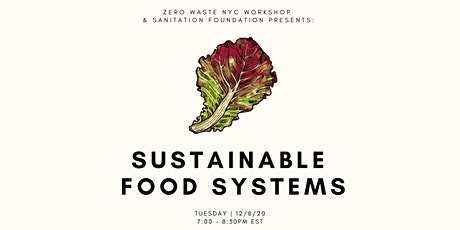 Sustainable Food Systems tickets