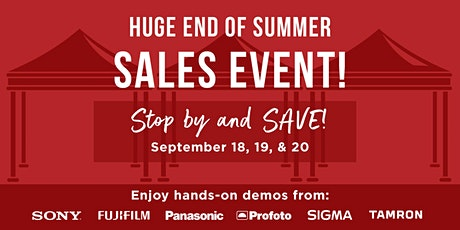 End of Summer Sales Event tickets