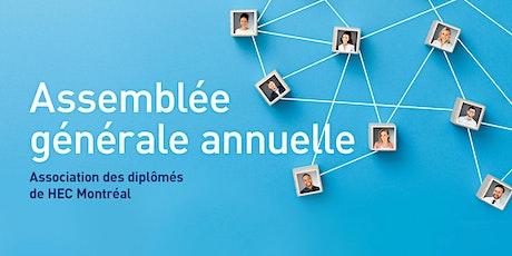 AGA 2020 de l'Association des diplômés HEC Montréal billets