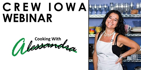 CREW Iowa - Cooking with Alessandra! tickets