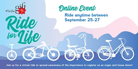 BeTheGift Ride for Life - Tennessee tickets