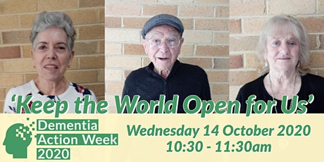 Keep the World Open for People with Dementia - Free Forum tickets