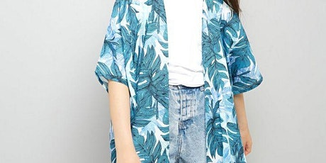 Make a Coachella-worthy Kimono jacket tickets