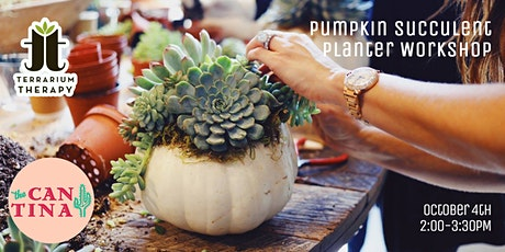 SOLD OUT- Pumpkin Succulent  at The Cantina York tickets