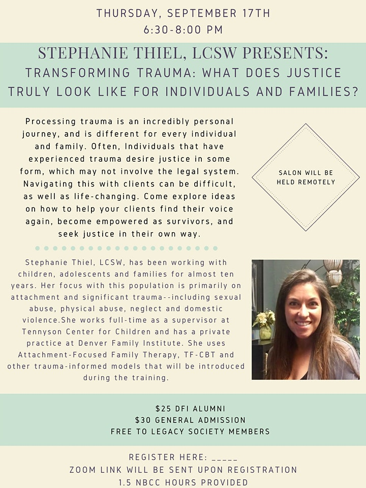 Transforming Trauma: What Does Justice Truly Look Like? image